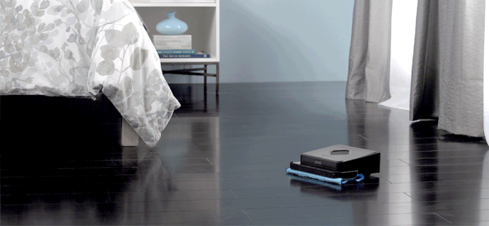 протирающий робот пылесос