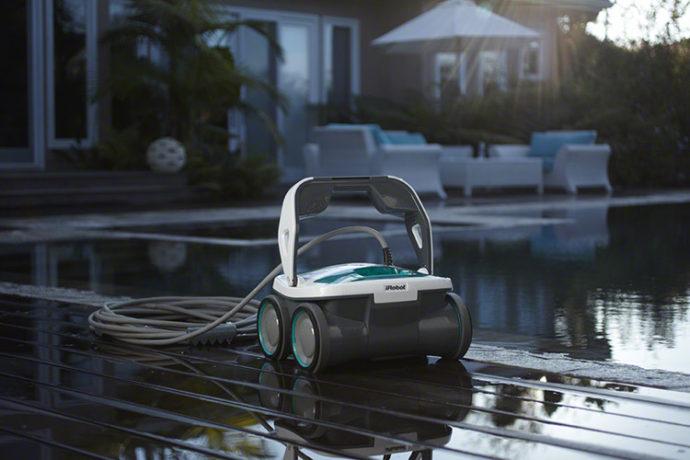 ай рооботСудак чистка бассейнов iRobot-Mirra-530