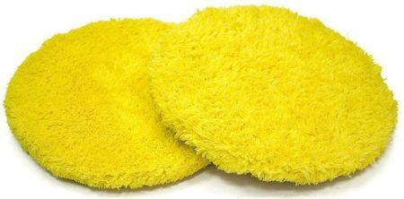 Запасные чистящие салфетки из микрофибры набор 12 штук Hobot 198 Желтые