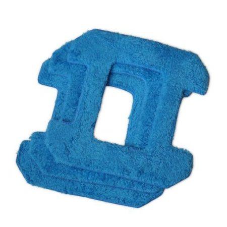 Запасные чистящие салфетки из микрофибры для HOBOT 268, синие для сухой уборки (3 штуки)