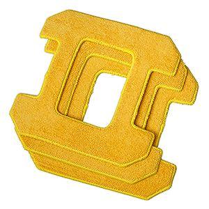 Запасные чистящие салфетки из микрофибры для HOBOT 268, желтые для влажной уборки (3 штуки)