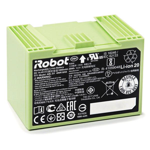 Аккумуляторная батарея Li-ion,1800 для Roomba серии e, i