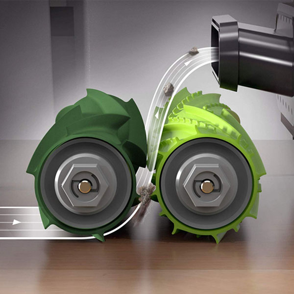 Комплект: 2 валика-скребка для Roomba серии e, i